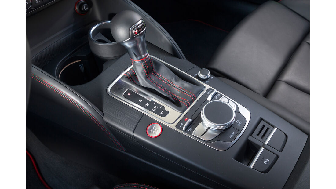 Audi S3 Limousine, Schalthebel