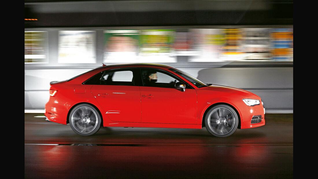 Audi S3 Limousine, Seitenansicht
