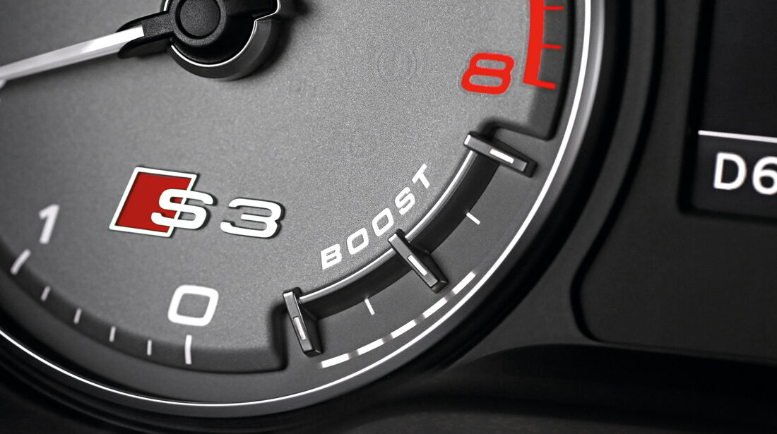 Audi S3 Sportback, Anzeigeinstrument