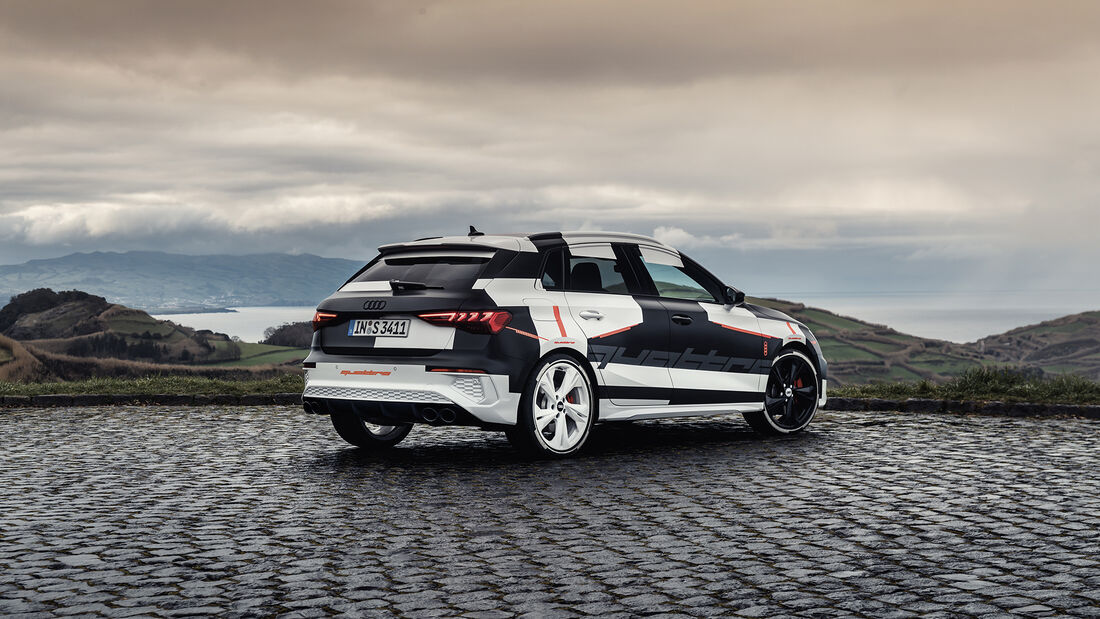 Audi S3 Sportback, Exterieur