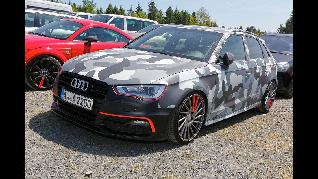 Audi S3 Sportback - Fan-Autos - 24h-Rennen Nürburgring 2017 - Nordschleife