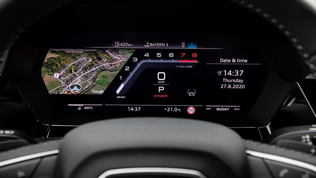 Audi S3 Sportback, Interieur