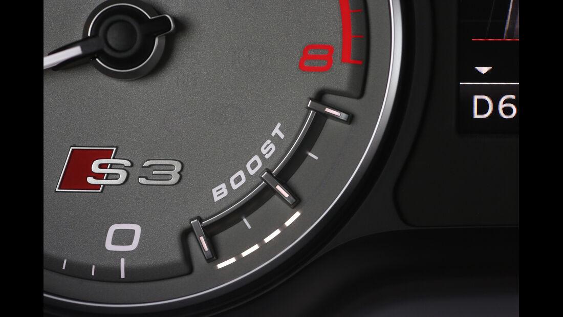 Audi S3 Sportback, Rundinstrument