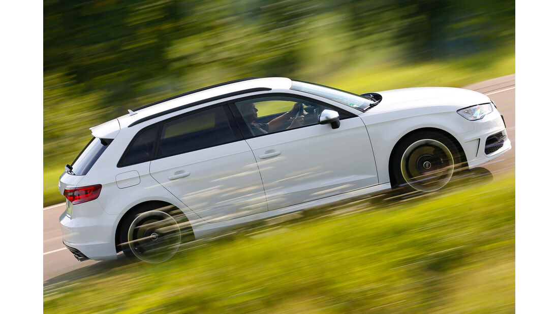 Audi S3 Sportback, Seitenansicht