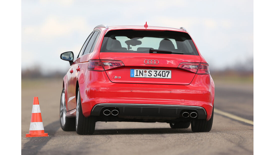 Audi S3 Sportback, Vergleichstest, spa 04/2014, Heftvorschau