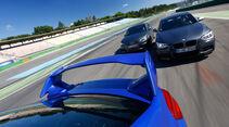 Audi S3, Subaru WRX Sti, BMW M135i x-Drive, Impression, Fahrt
