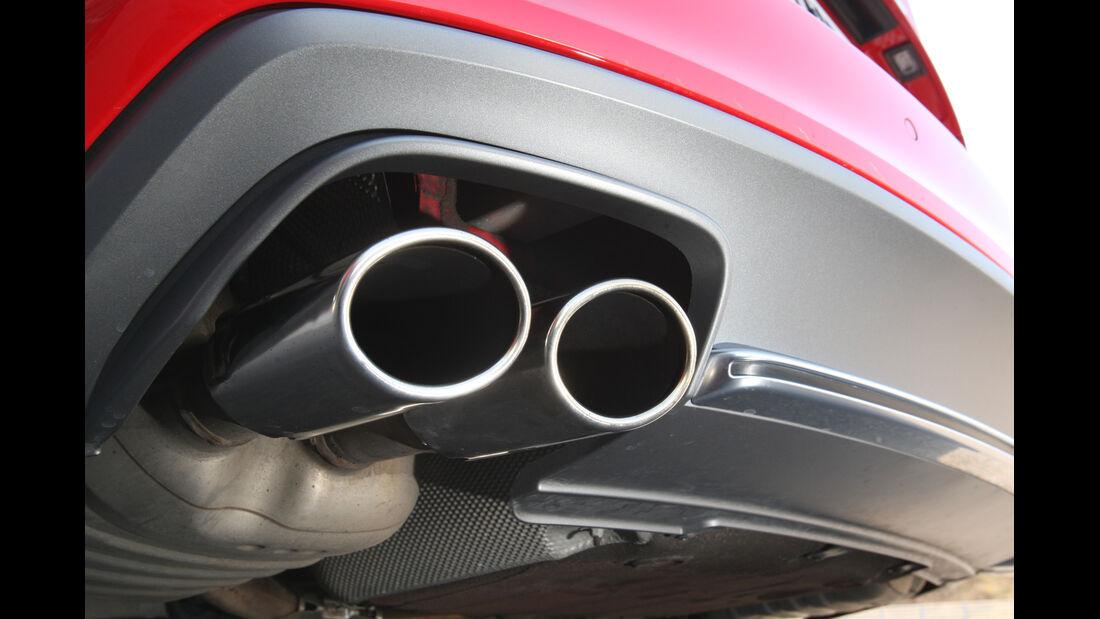 Audi S4 3.0 TFSI, Auspuff, Endrohre