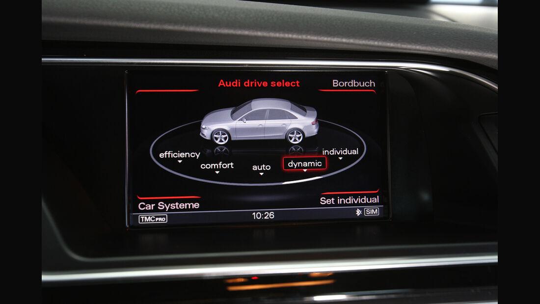Audi S4 3.0 TFSI, Bildschirm