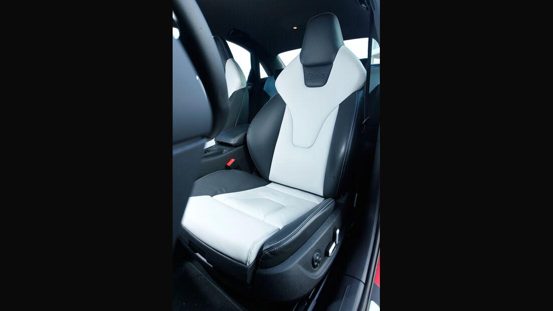 Audi S4 3.0 TFSI, Fahrersitz