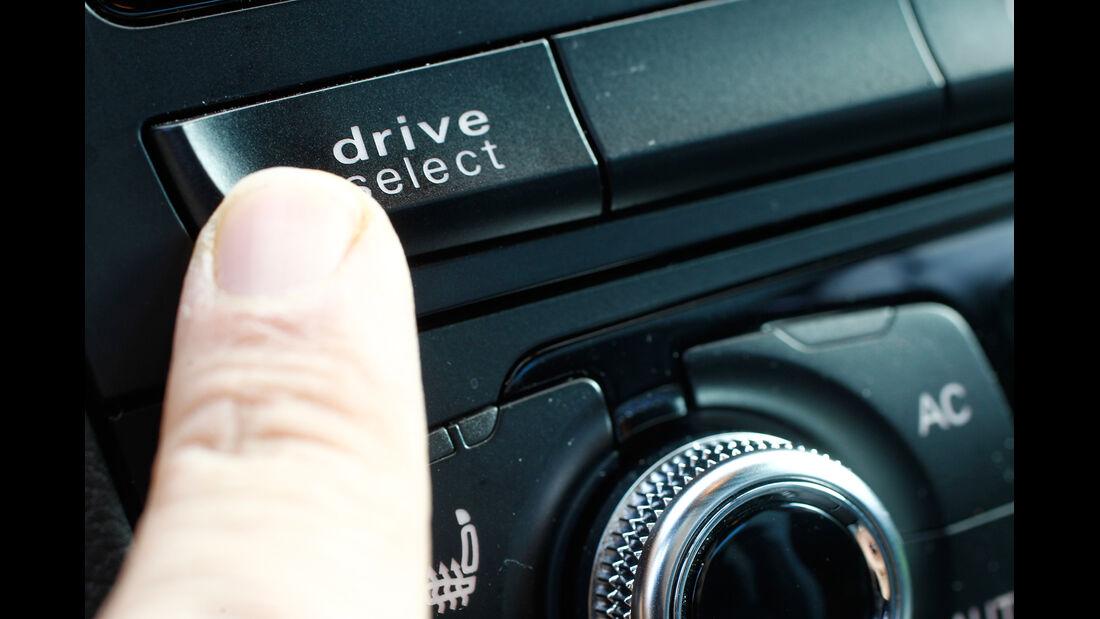 Audi S4 3.0 TFSI, Fahrwerkeinstellung, Drive select
