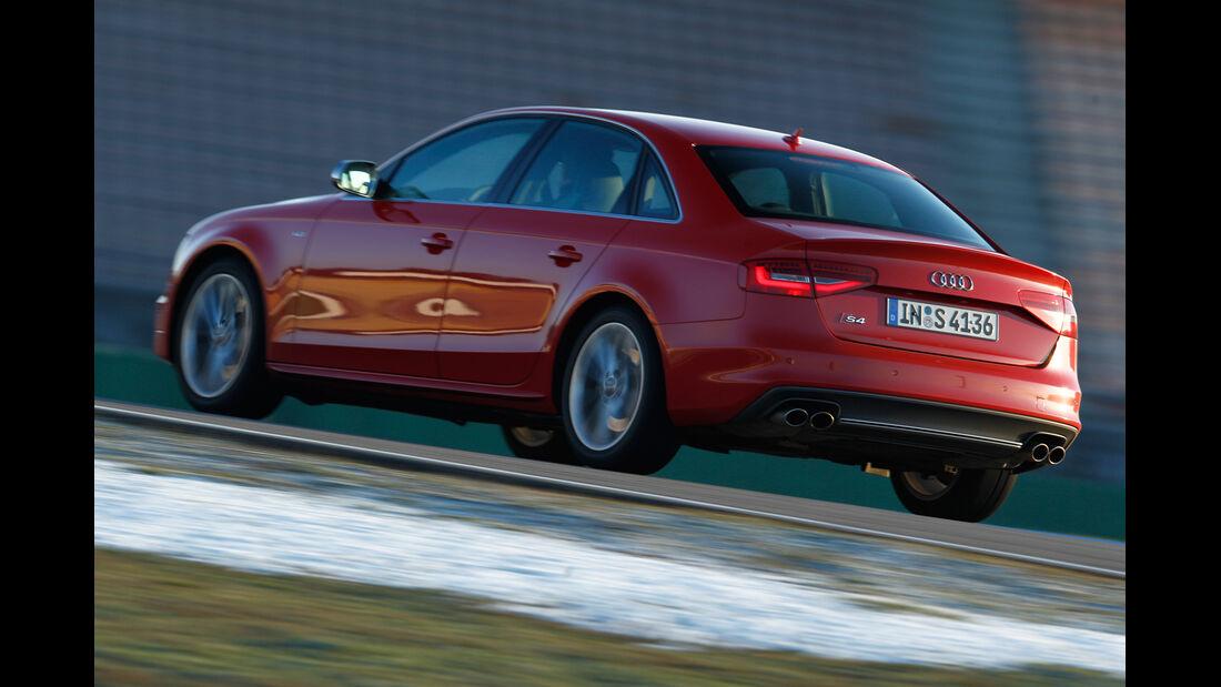 Audi S4 3.0 TFSI, Heckansicht