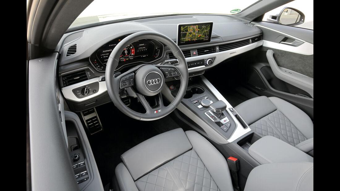 Audi S4 3.0 TFSI Quattro, Cockpit