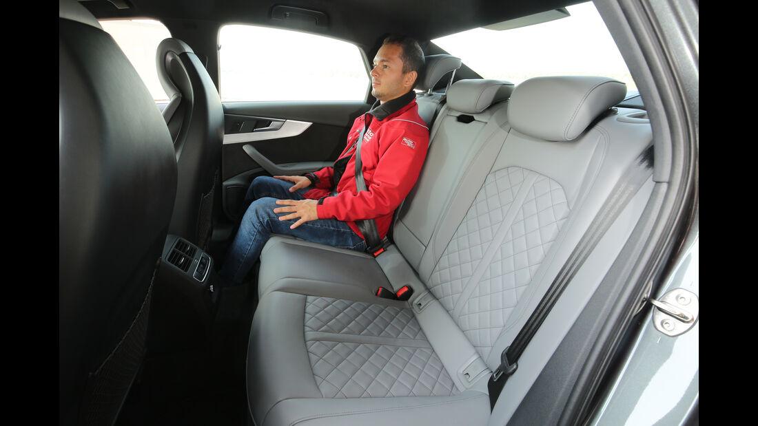 Audi S4 3.0 TFSI Quattro, Fondsitze