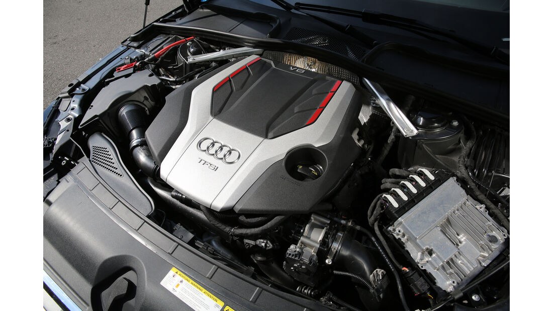 Audi S4 3.0 TFSI Quattro, Motor