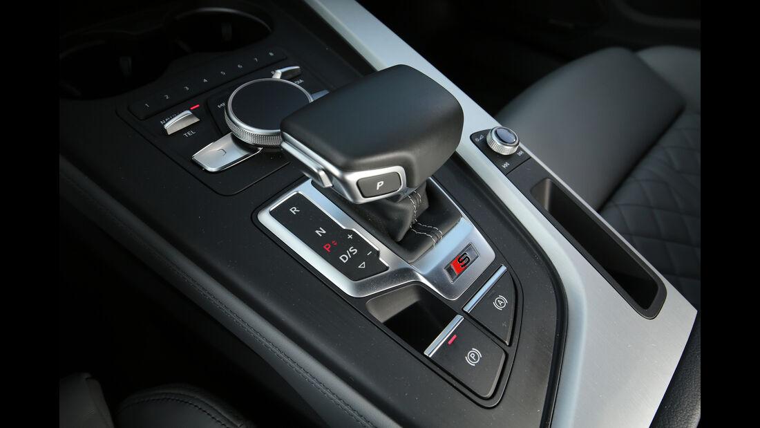Audi S4 3.0 TFSI Quattro, Schalthebel