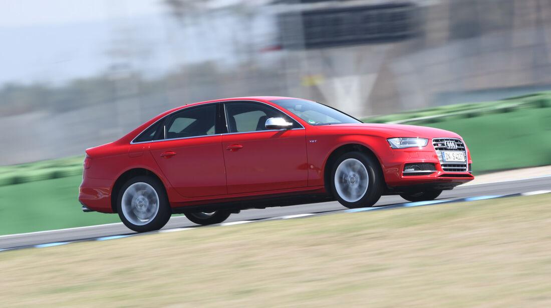 Audi S4 3.0 TFSI, Seitenansicht