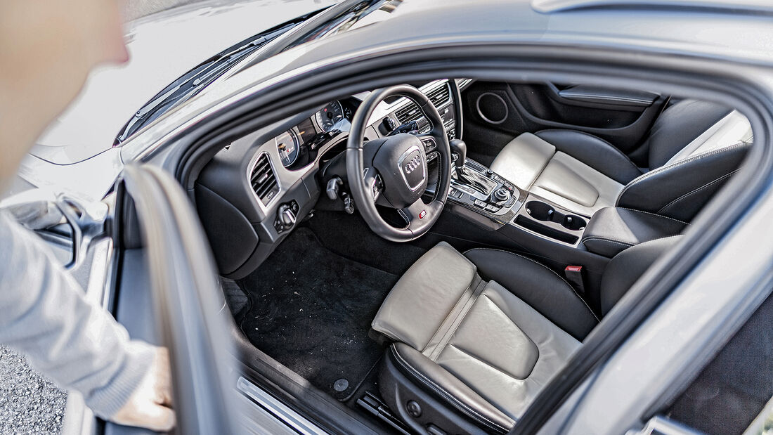 Audi S4 3.0 TFSI quattro Avant, Interieur