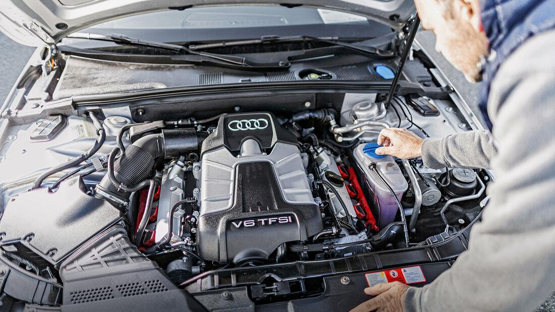 Audi S4 3.0 TFSI quattro Avant, Motor