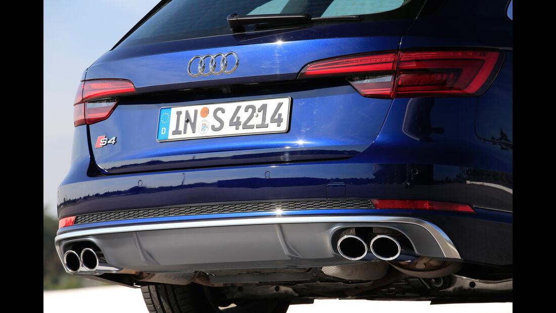 Audi S4 Avant 3.0 TFSI Quattro, Endrohre