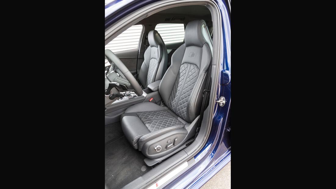 Audi S4 Avant 3.0 TFSI Quattro, Fahrersitz