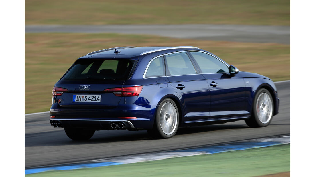 Audi S4 Avant 3.0 TFSI Quattro, Heckansicht