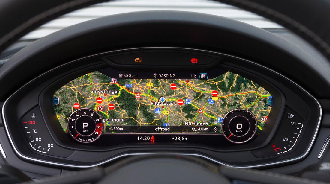 Audi S4 Avant 3.0 TFSI Quattro, Navi