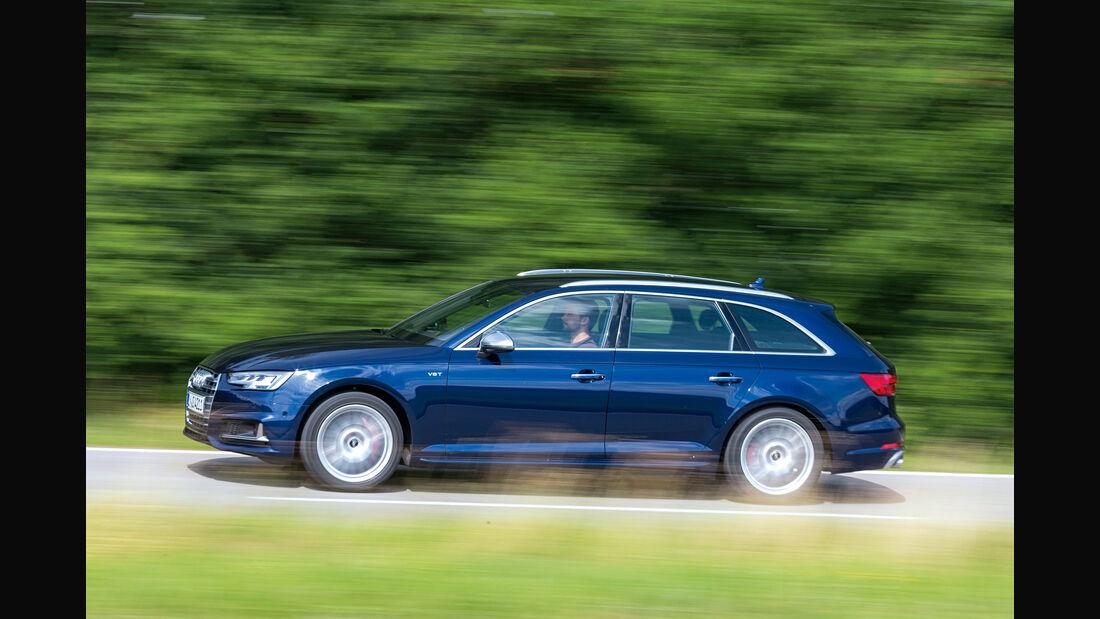 Audi S4 Avant 3.0 TFSI Quattro, Seitenansicht