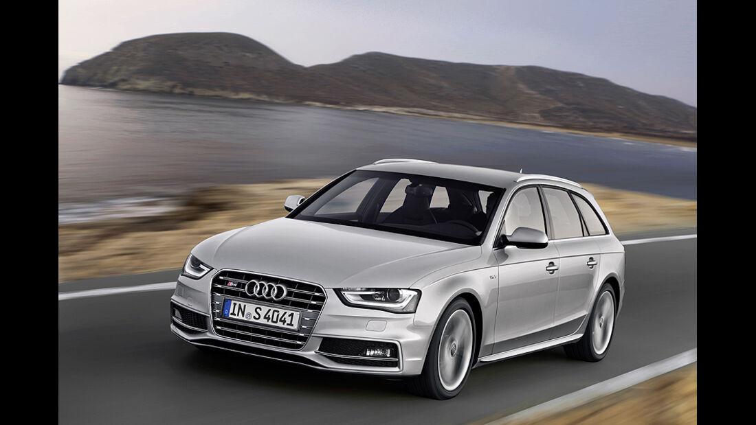 Audi S4 Avant, Front