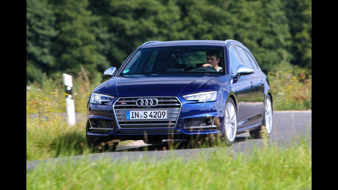 Audi S4 Avant, Frontansicht