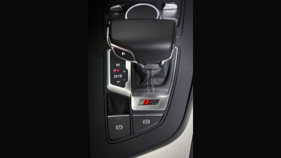 Audi S4 Avant, Schalthebel