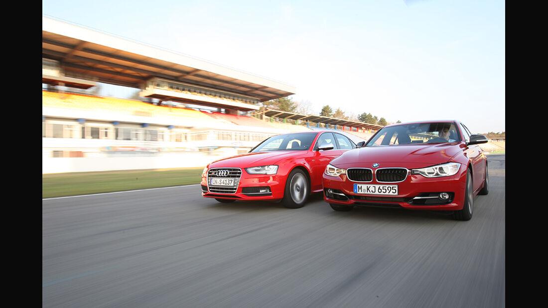 Audi S4, BMW 335i Sport Line