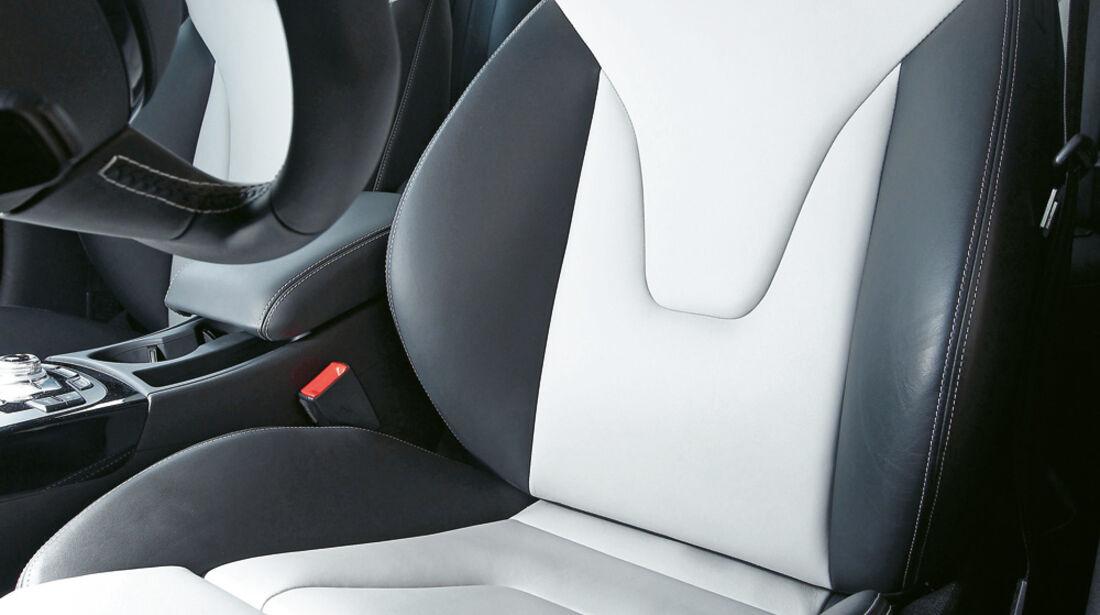 Audi S4, Fahrersitz