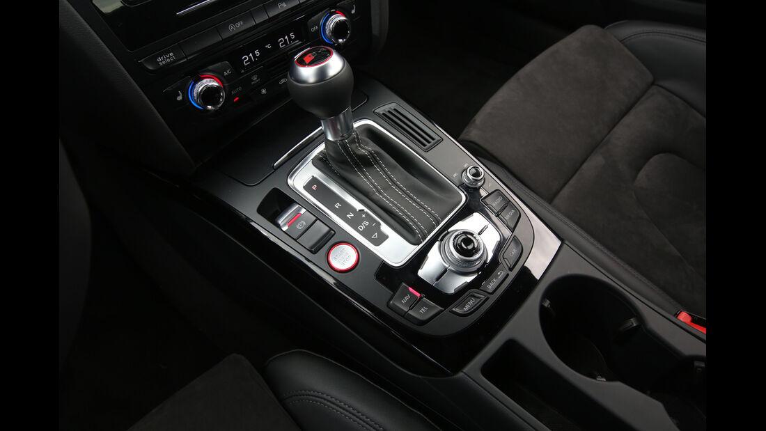 Audi S4, Schalthebel