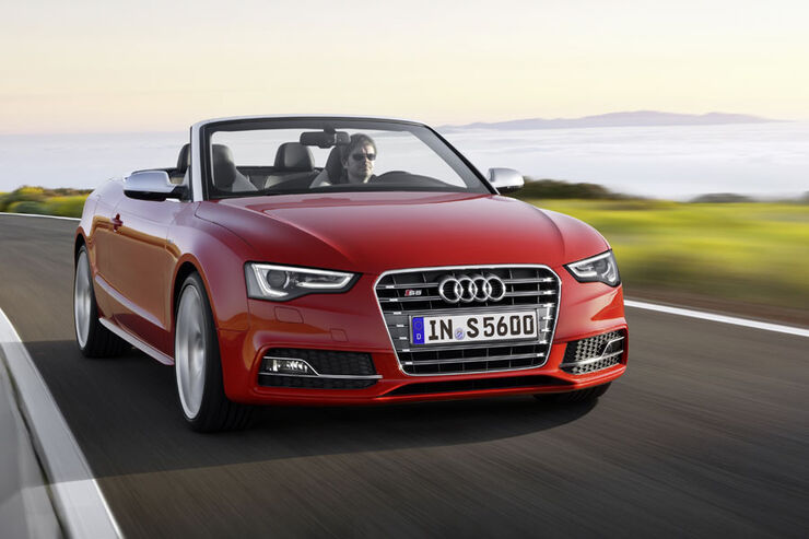 Audi S5, 2012, Facelift, Cabrio
