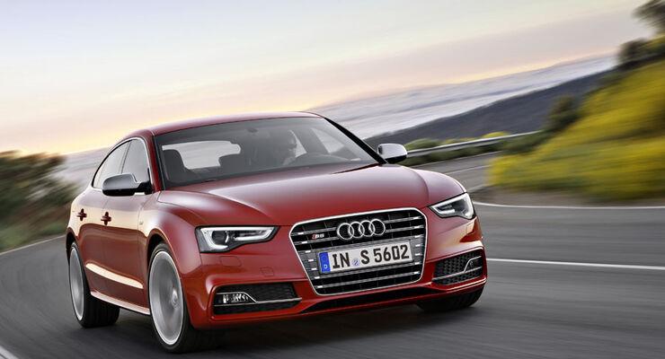 Audi S5, 2012, Facelift, Limousine