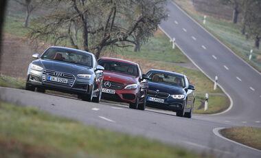Audi S5, BMW 440i xDrive, Mercedes AMG C 43 Coupé