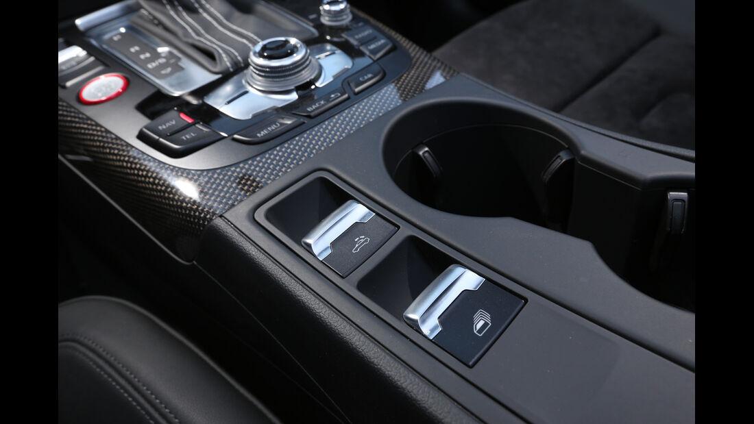 Audi S5 Cabrio, Bedienelemente