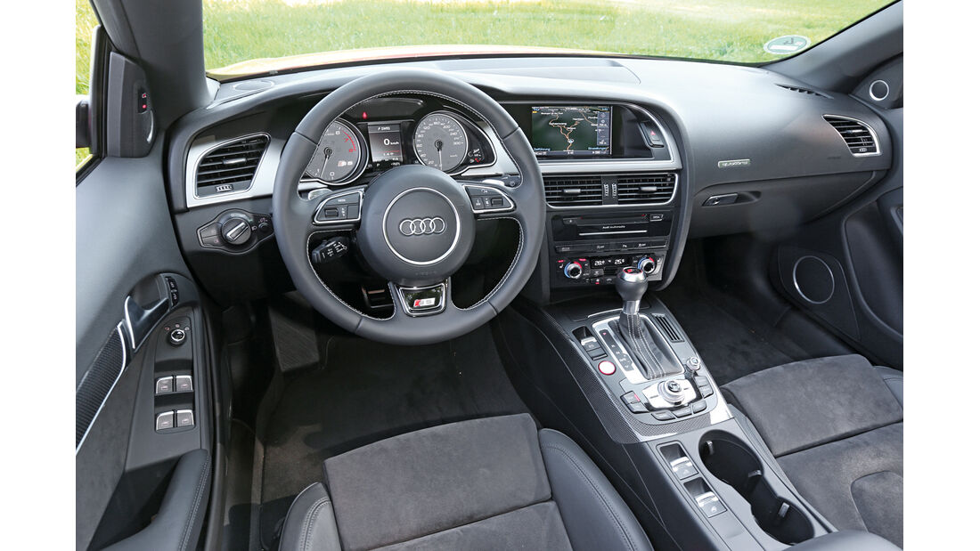 Audi S5 Cabrio, Cockpit