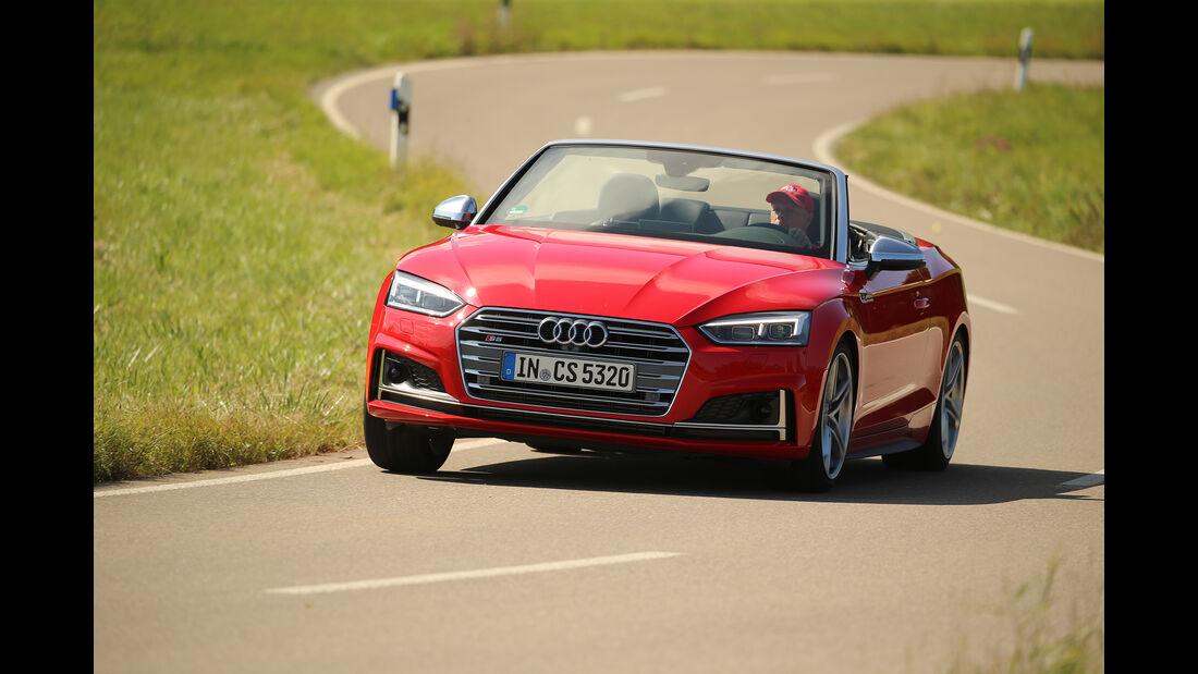 Audi S5 Cabrio, Exterieur, Front