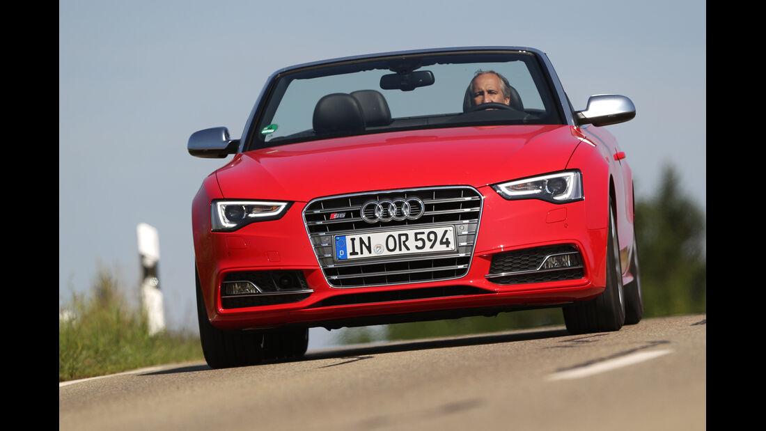 Audi S5 Cabrio, Frontansicht