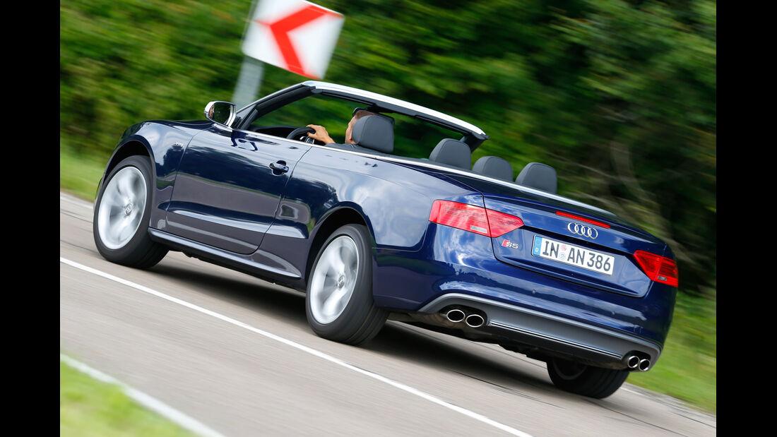 Audi S5 Cabrio, Heckansicht