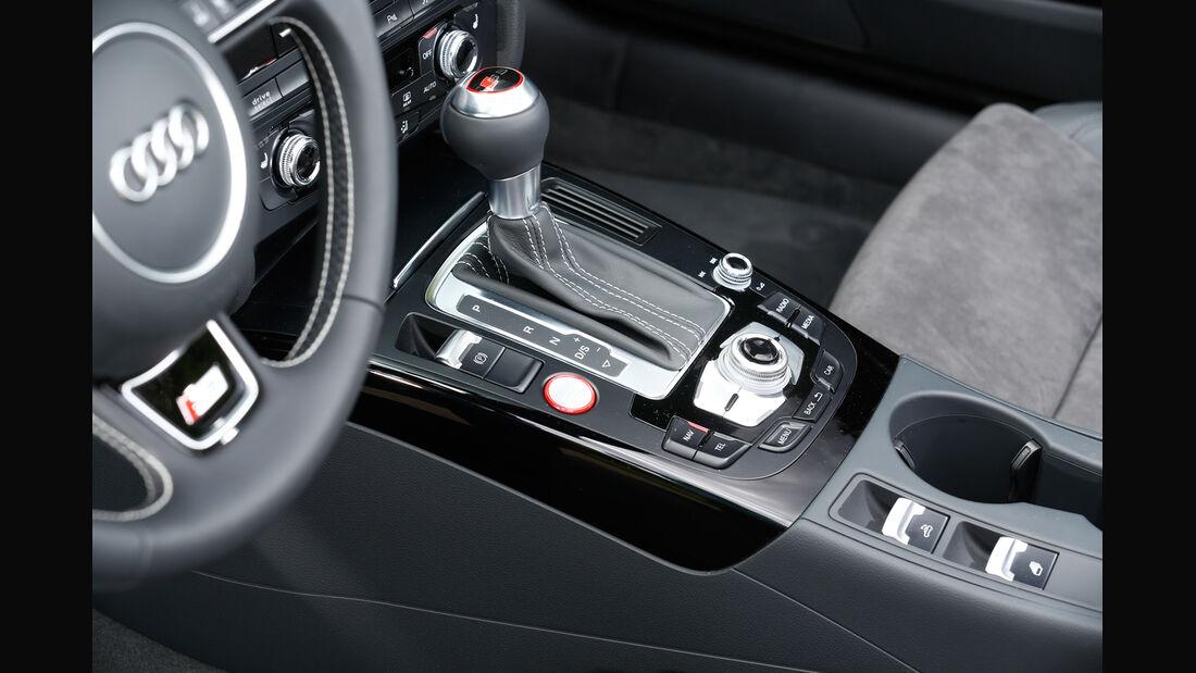 Audi S5 Cabrio, Schalthebel