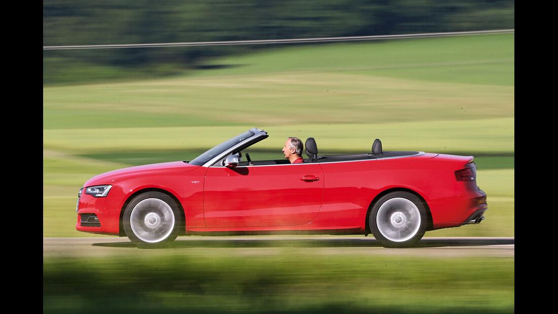 Audi S5 Cabrio, Seitenansicht