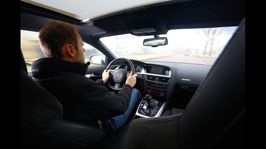 Audi S5, Cockpit, Fahrersicht