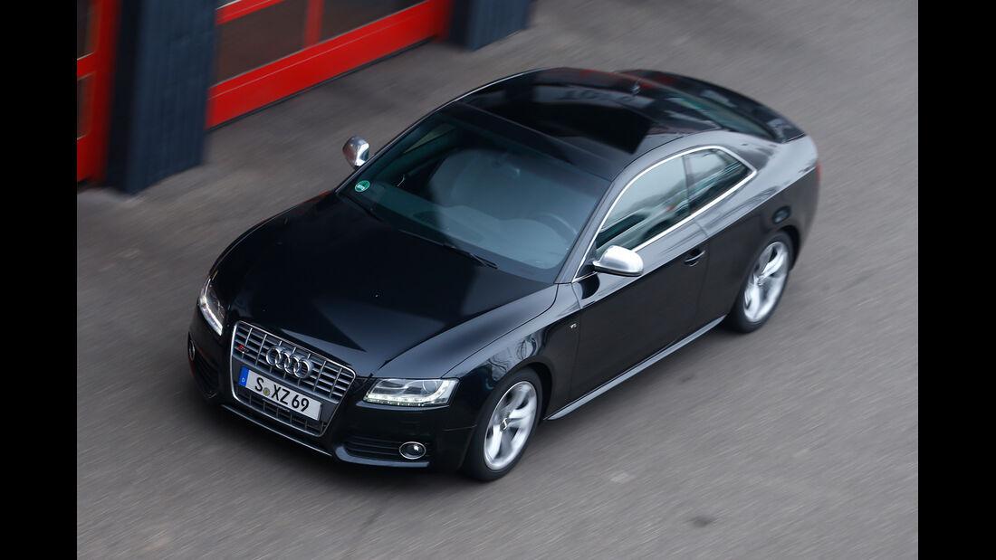 Audi S5, Draufsicht, von oben
