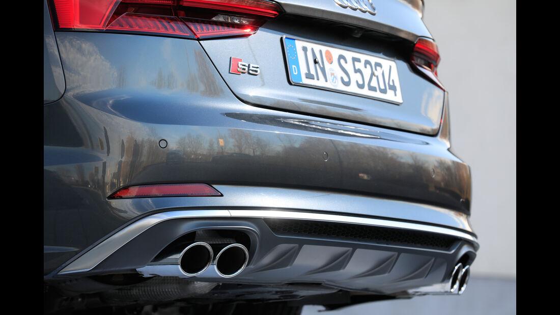 Audi S5, Endrohre