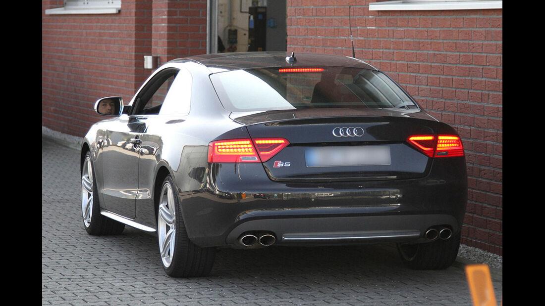 Audi S5 Erlkönig