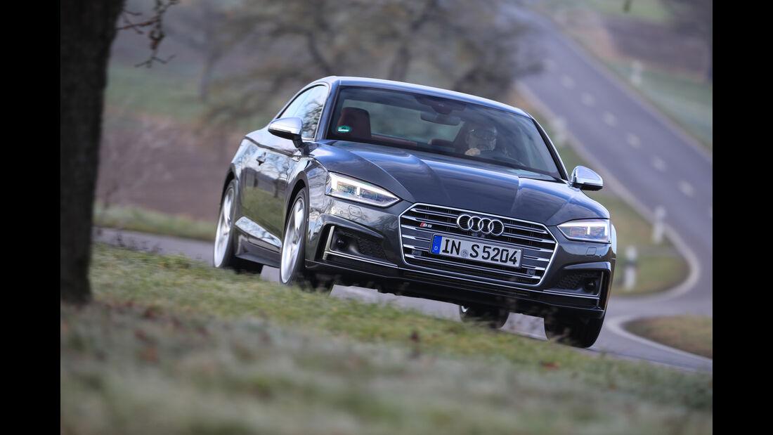 Audi S5, Frontansicht