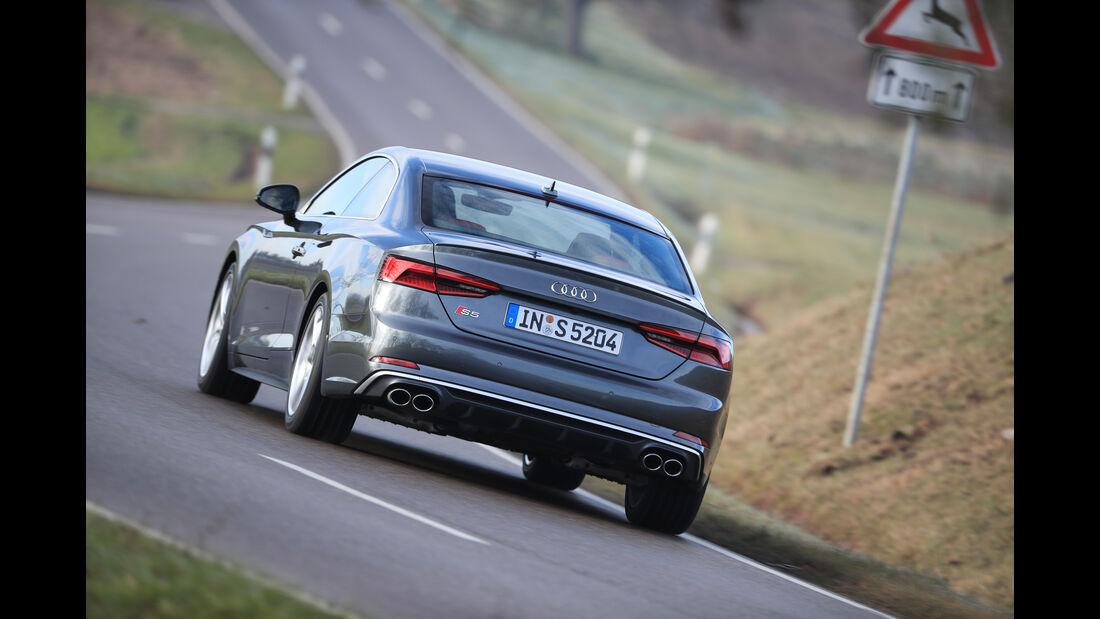 Audi S5, Heckansicht