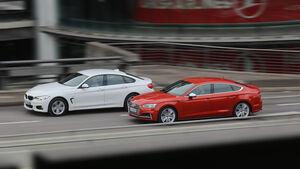 Audi S5 Sportback 3.0 TFSI, BMW 440i Gran Coupé xDrive M Sport
